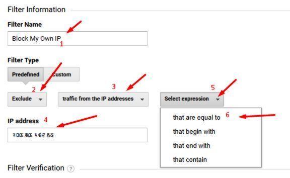 block google analytics by ip