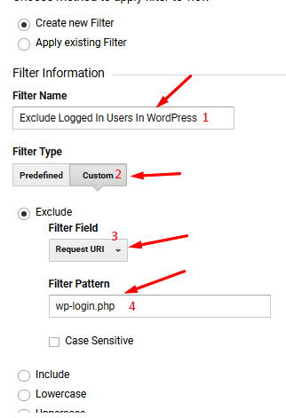 exclude-loggin-users-in-WordPress-from-tracking
