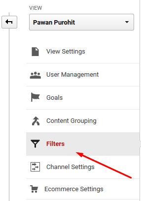 google analytics filters